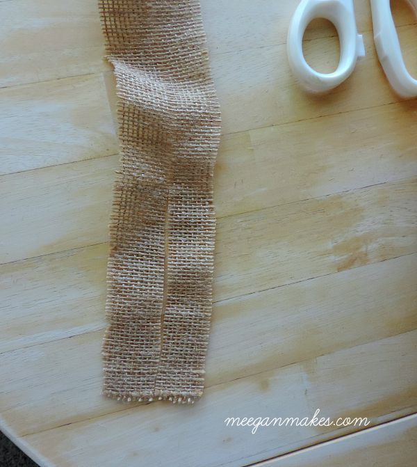 How To Cut Burlap For Crafts