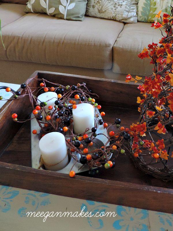 Muffin Tin Candle Holder