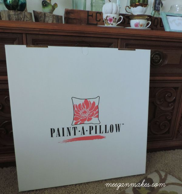 Paint a Pillow Kit from Cutting Edge Stencils