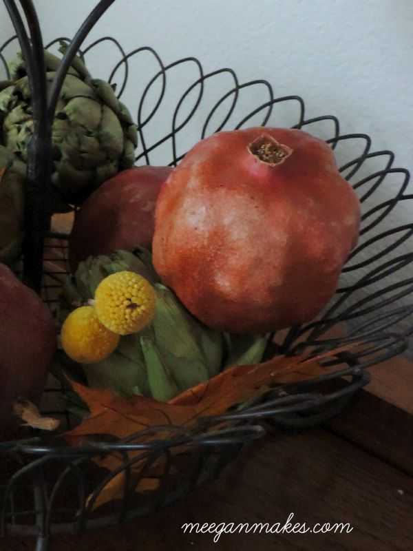 Pomegranates and Billy Balls For Fall