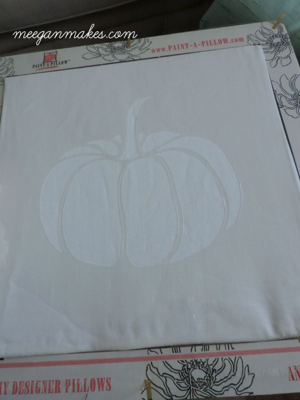 Pumpkin Paint a Pillow Kit