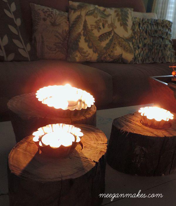 Tart Tins with Tealights