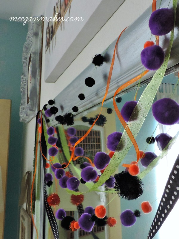 EASY Pom and Ribbon Garland
