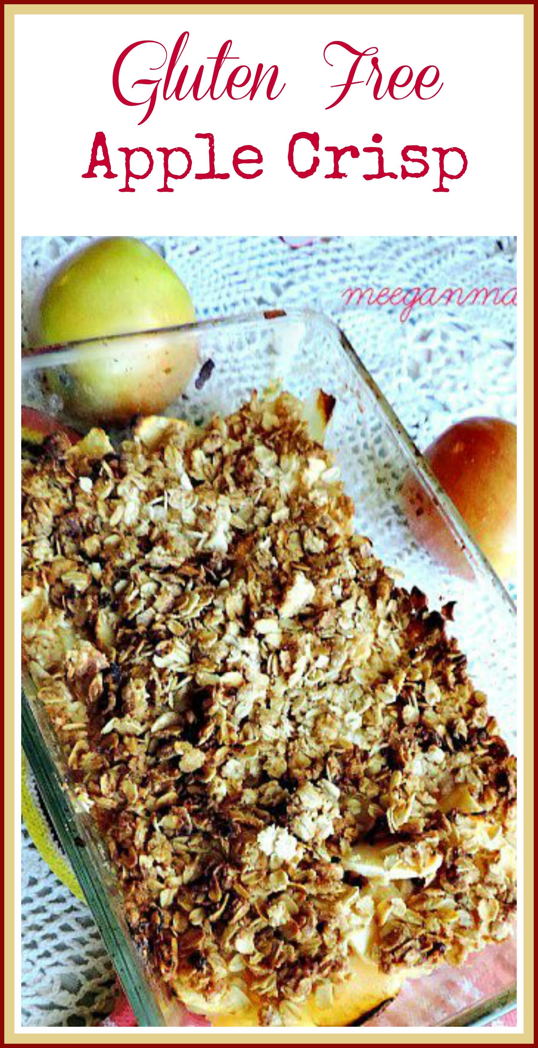 Gluten Free Apple Crisp - What Meegan Makes
