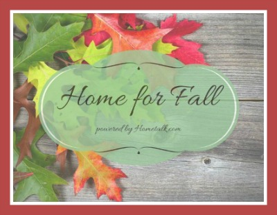 Home For Fall Button