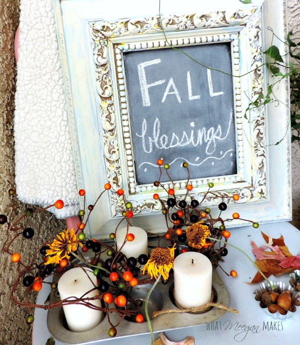 Fall Porch by meeganmakes.com