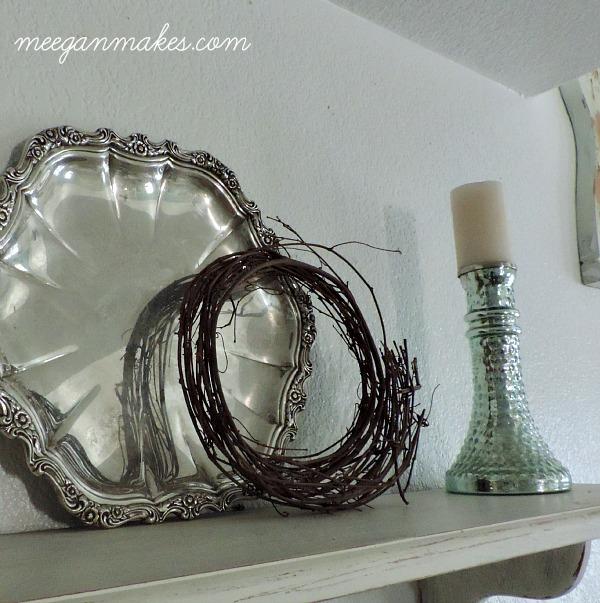 Silver Vintage Fall Decor
