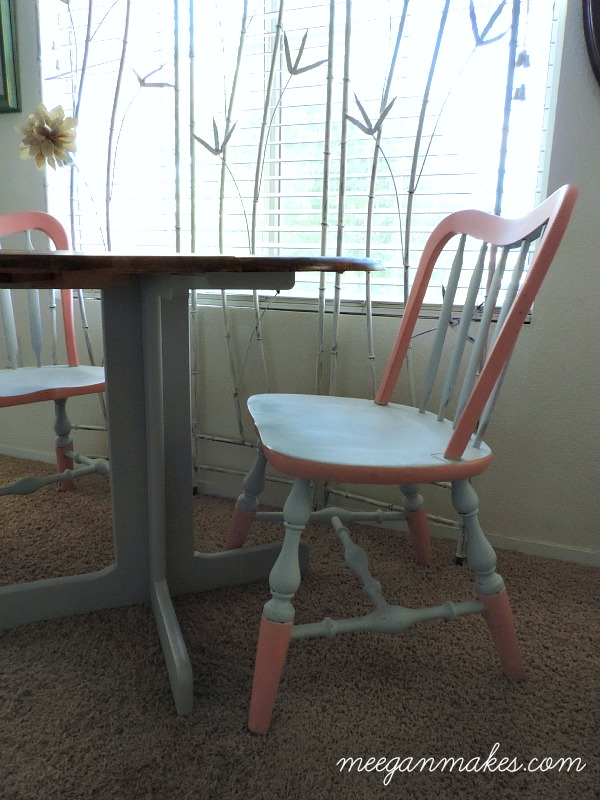 Thrifted $10 Table and Chairs