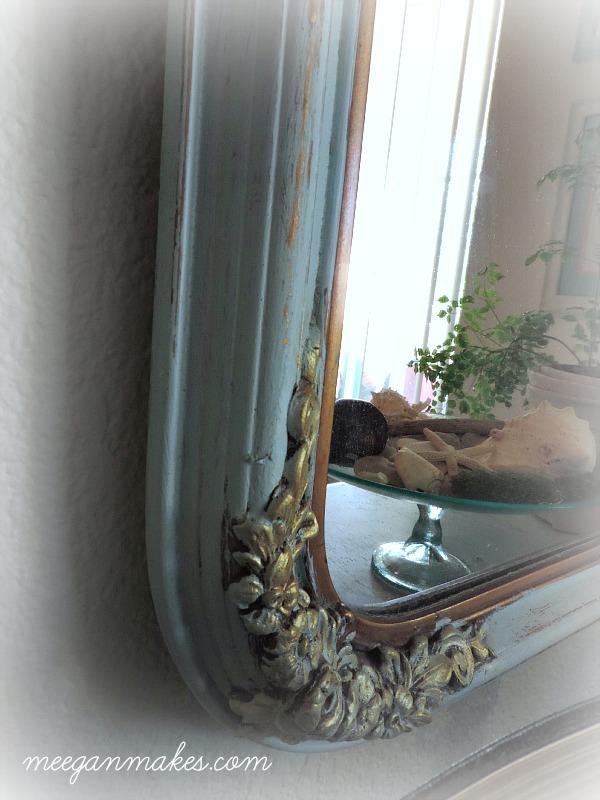 Vintage Mirror Details