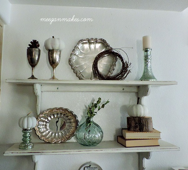 White Fall Shelves