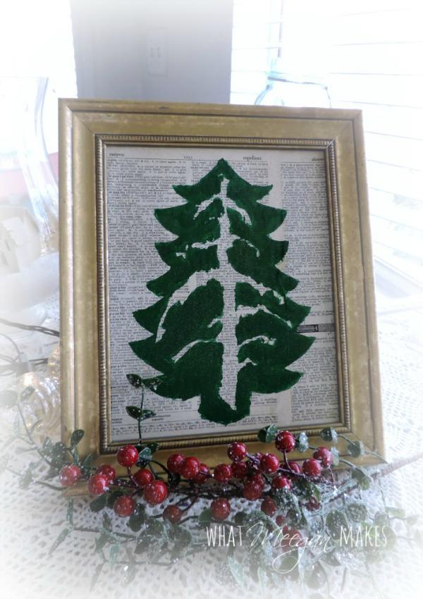 Anthropologie Inspired Christmas Tree