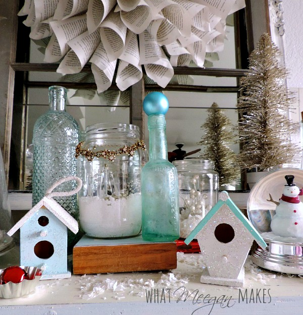Christmas Vignette by meeganmakes.com