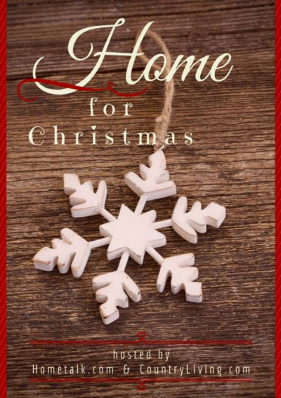 Home For Christmas Button