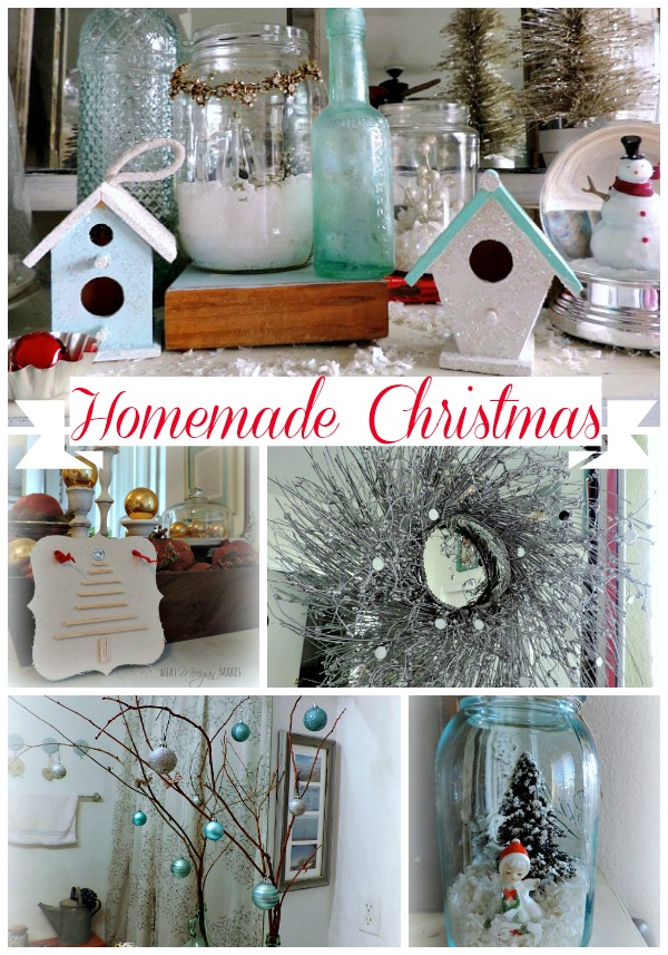 Homemade Christmas by meeganmakes.com