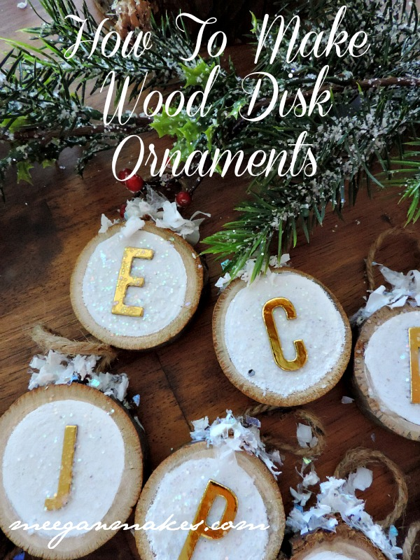 How To Make Wood Ornaments