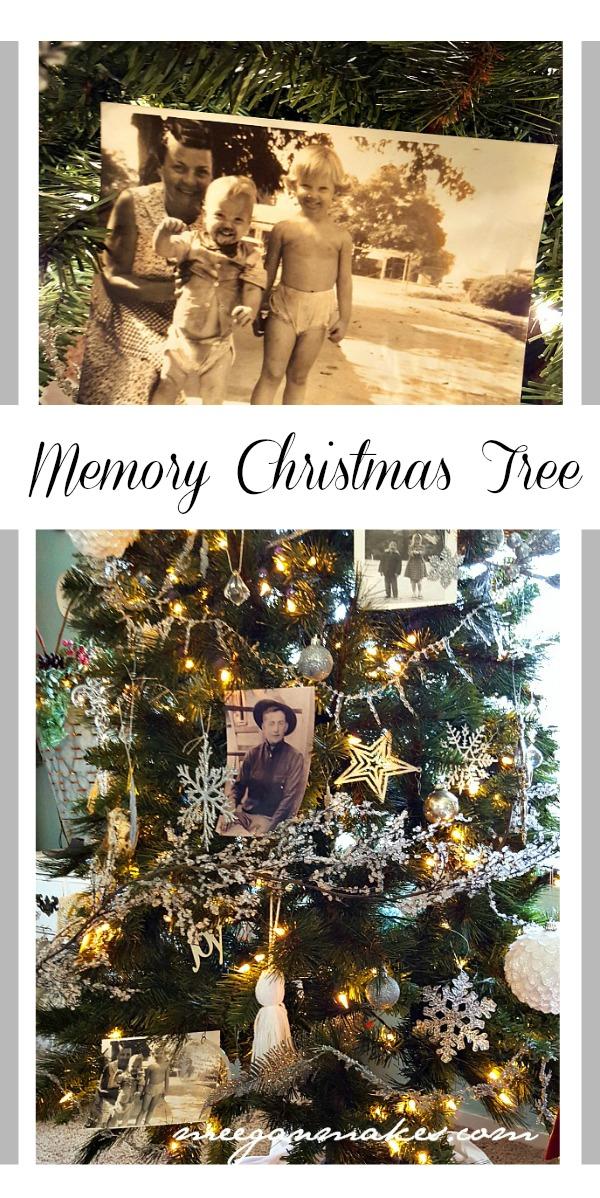 Memory Christmas Tree by meeganmakes.com