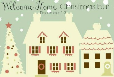 Welcome Home Christmas Tour Button