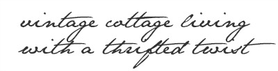 vintage cottage living