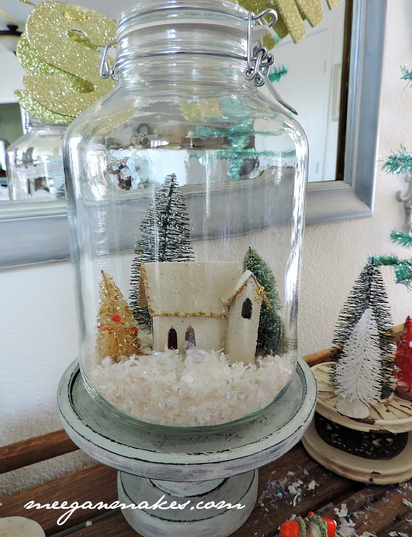 Christmas Canning Jar