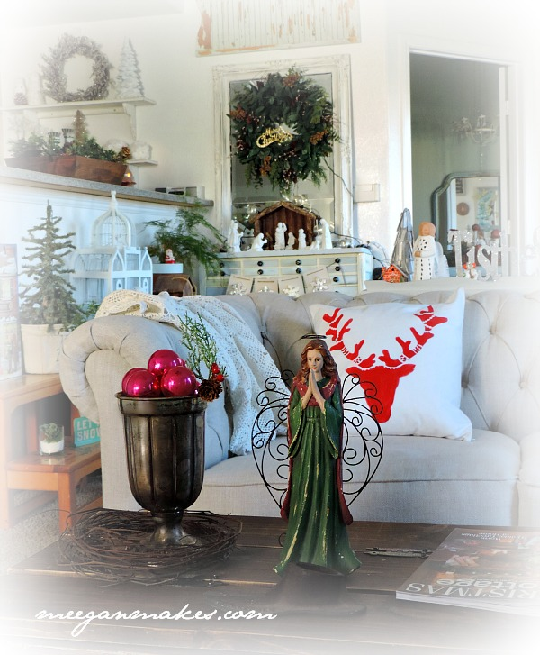 Christmas Home Tour Living Room
