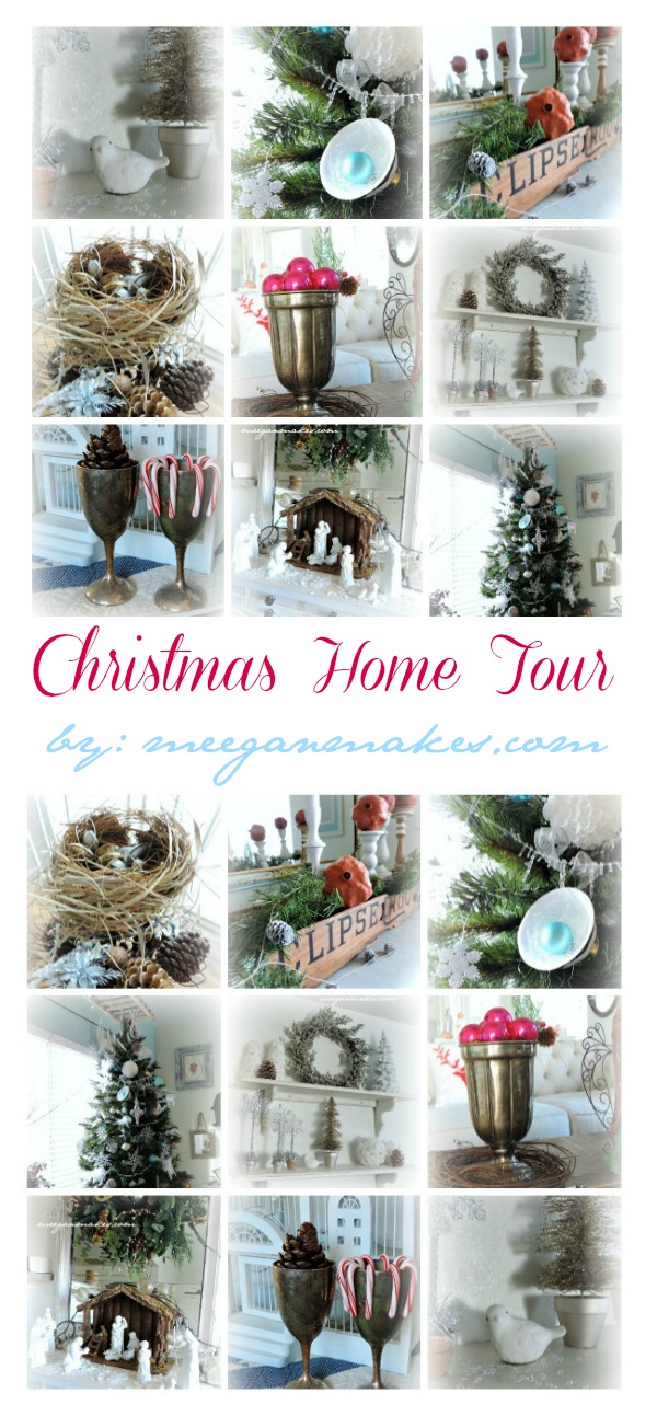 Christmas Home Tour by meeganmakes.com