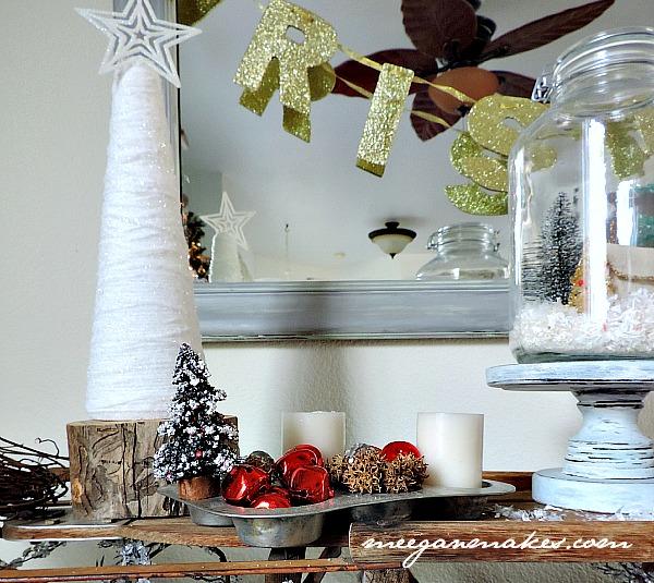 Christmas Sled Decor by meeganmakes.com