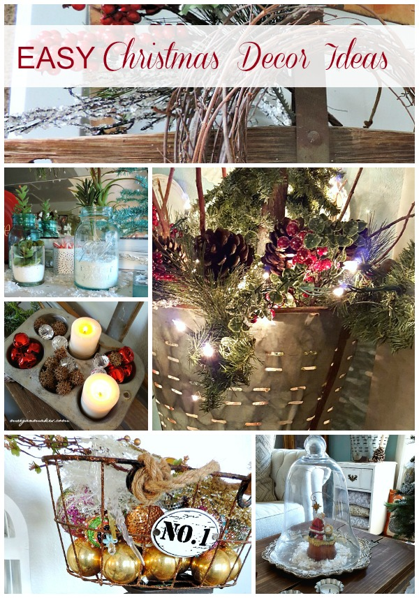Easy Christmas Decor Ideas by meeganmakes.com