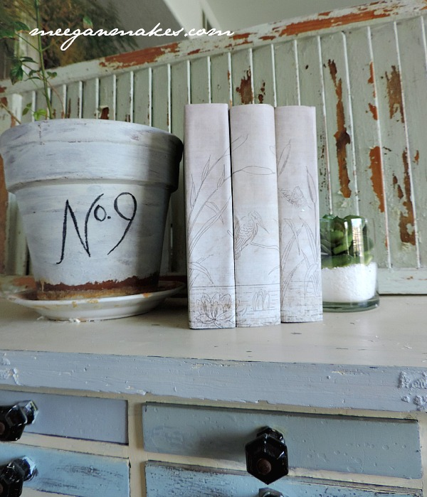 How To Decoupage Book Spines