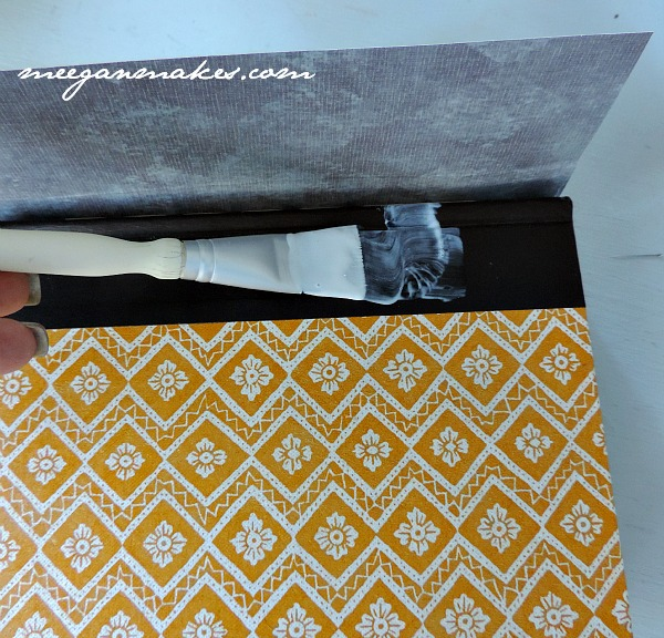 How To Decoupage a Book
