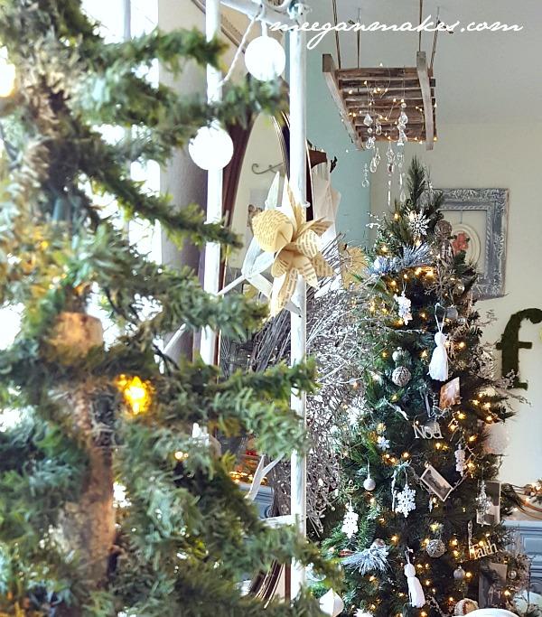 Living Room Christmas Trees