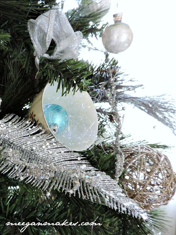 Tea Cups on a Christmas Tree