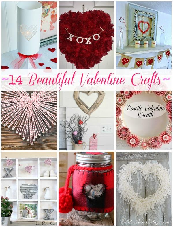 14 Beautiful Valentine Crafts