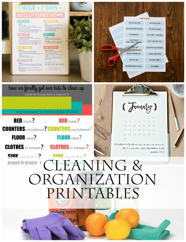 Cleaning-and-Organization-Printables