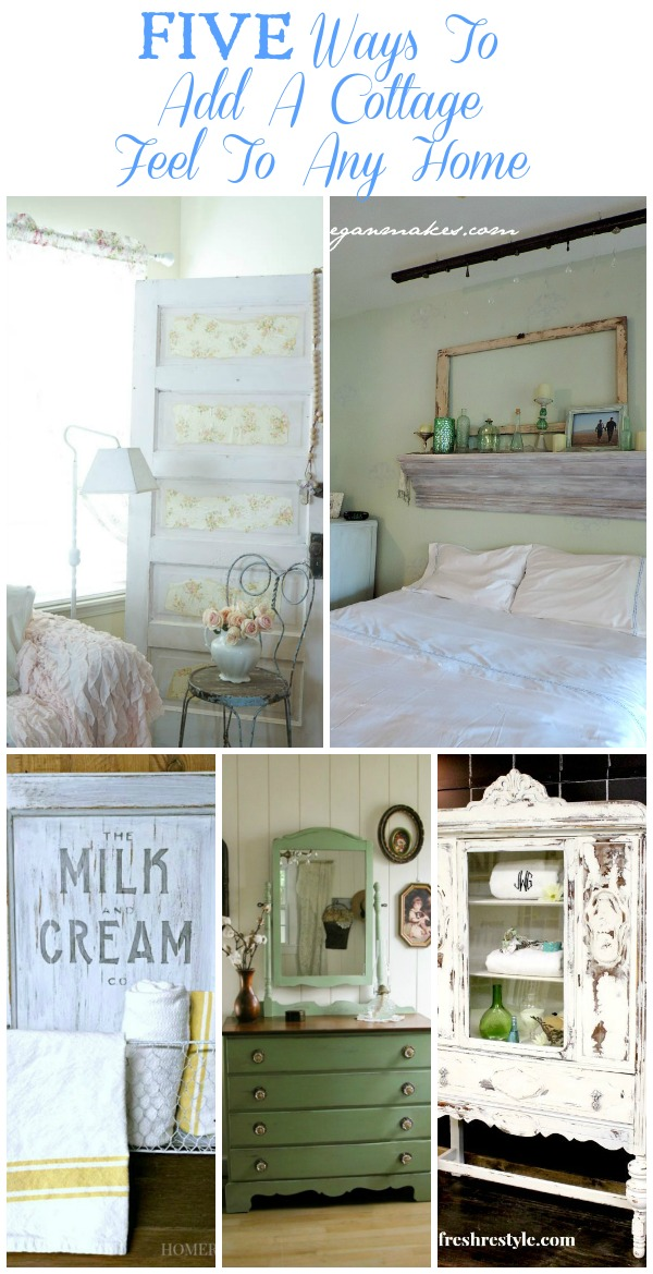 Five Ways To Add A Cottage Feel To Any Home