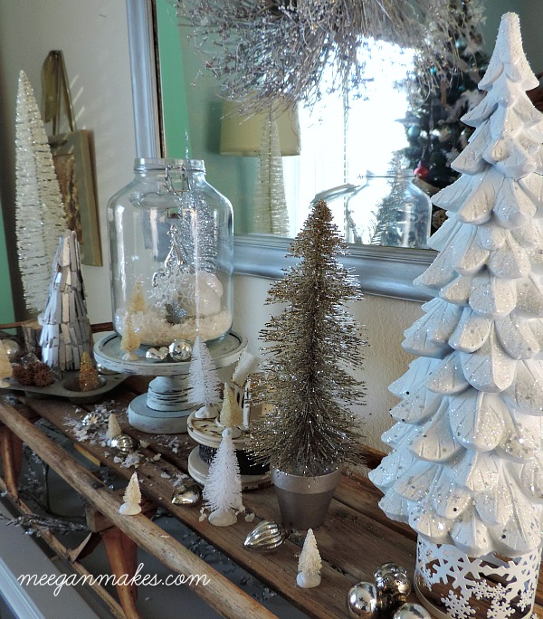 Winter White Home Decorating