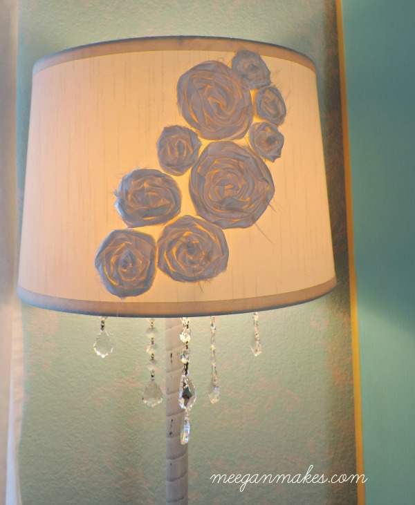 DIY Floor Lamp with Crystals