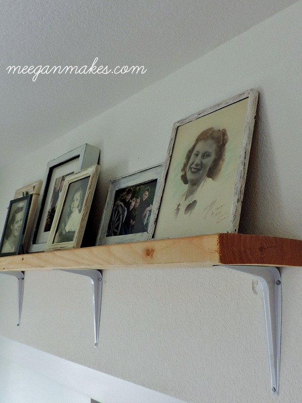 DIY Rustic Shelves
