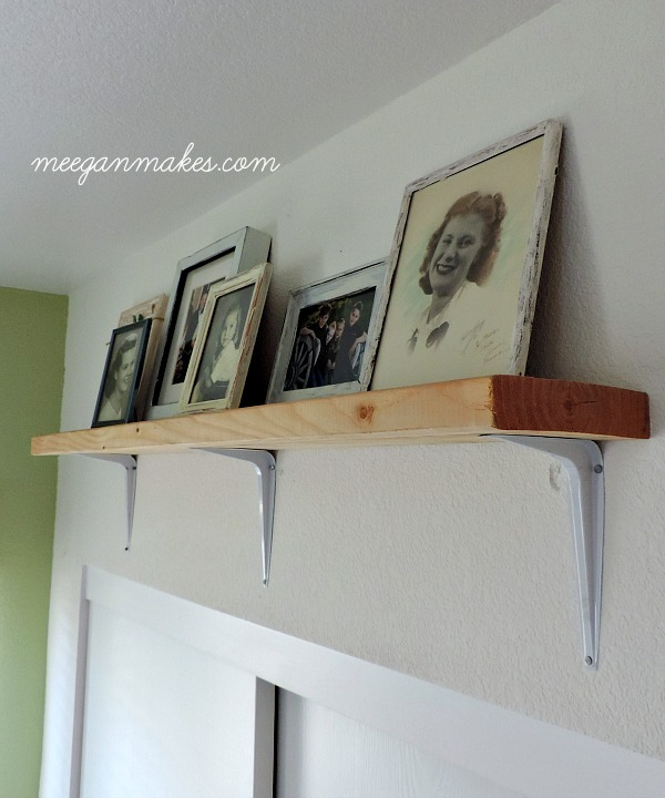 DIY Shelving Above Closets