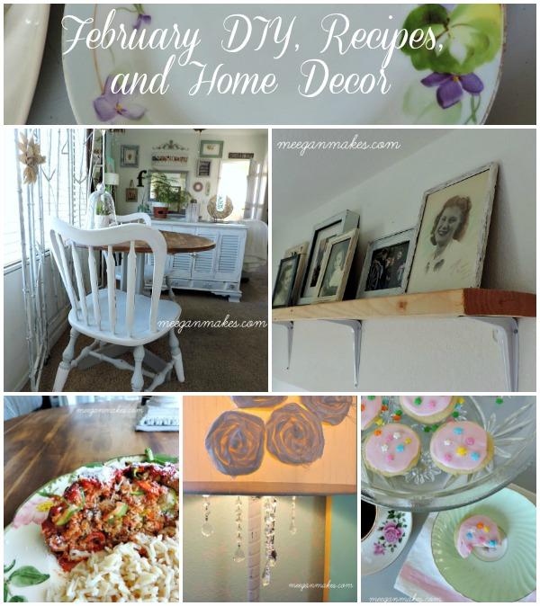 February DIY, Recipes and Home Decor