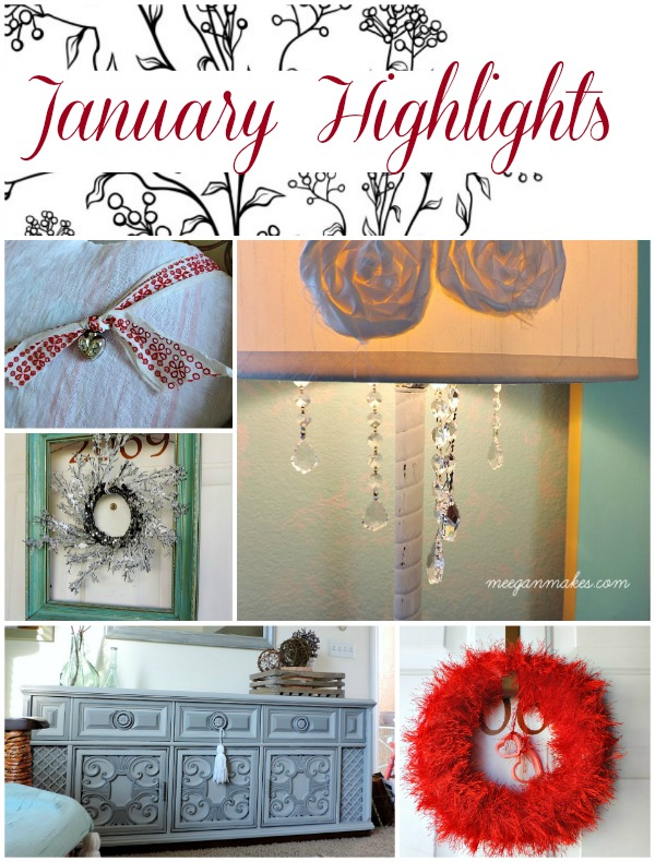 January Highlights by meeganmakes.com