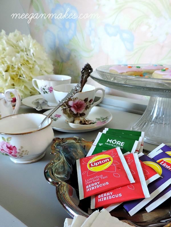 Lipton Tea for Sunday Night Dessert