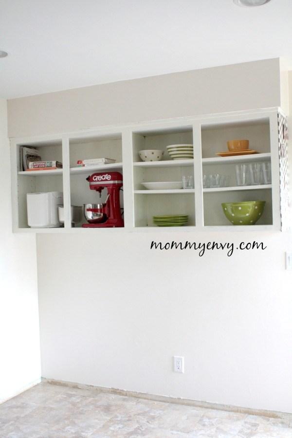 Open-Kitchen-Cabinets by Mommy Envy