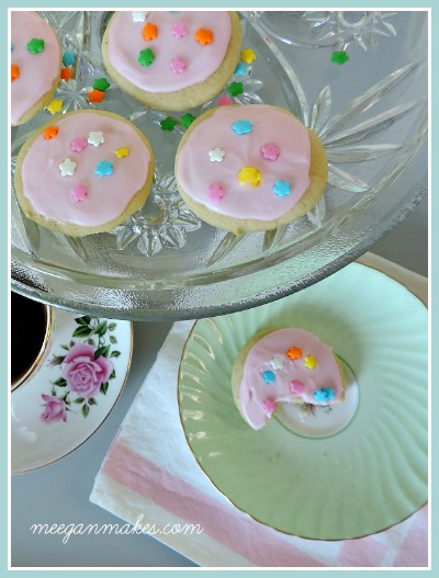 Soft Sugar Cookies Button