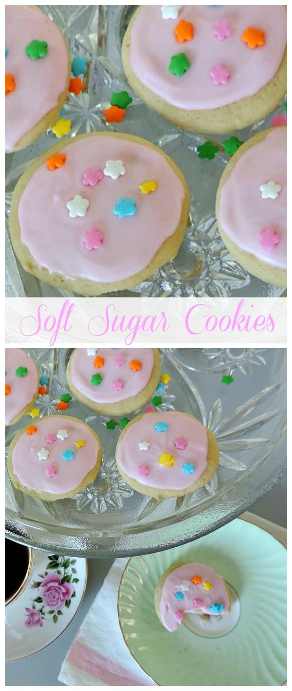 Soft Sugar Cookies by meeganmakes.com