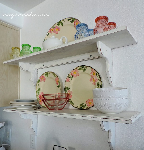 Spring Styled Shelves