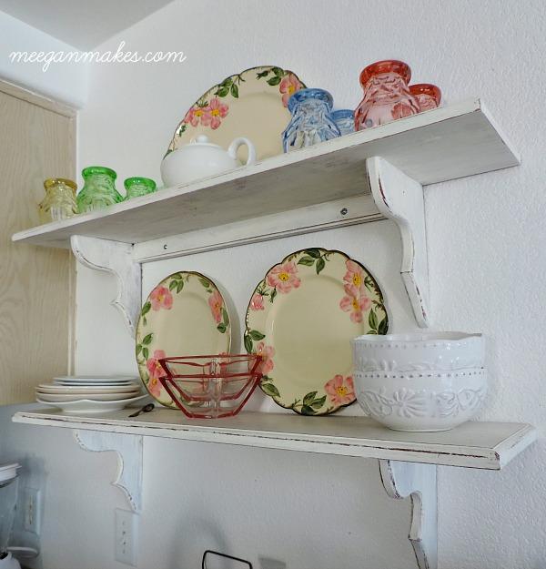 Spring Styled Shelves