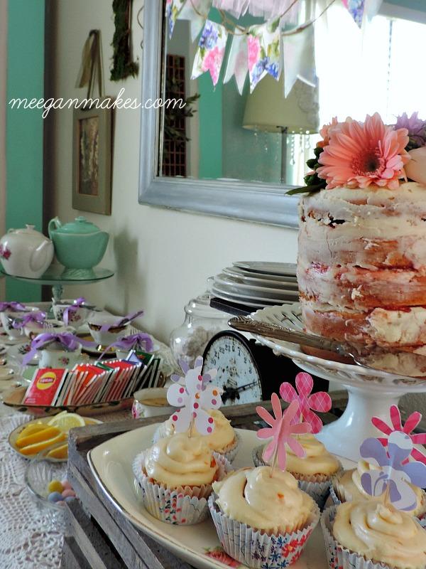 Tea Party Cake and Tea