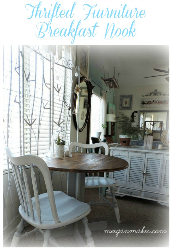 Thrifted Furniture Breakfast Nook