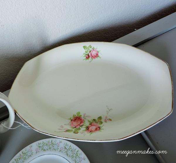 Thrifted Vintage Platter