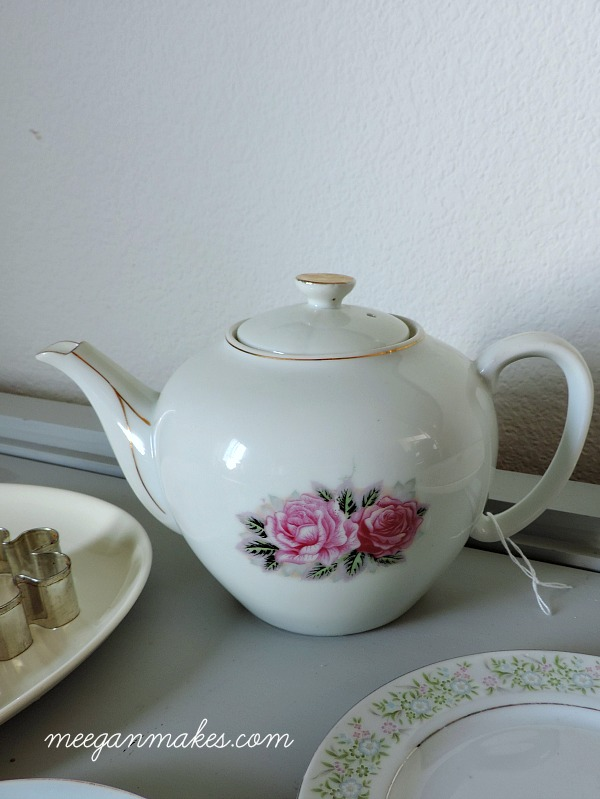 Thrifted Vintage Tea Pot